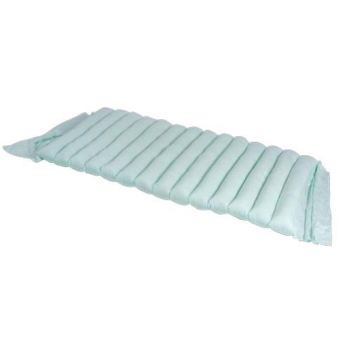 Materasso in fibra cava siliconata, rivestito in 100% cotone sanforizzato.
