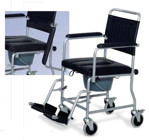 Può essere utilizzata come sedia a comoda o direttamente sul WC.