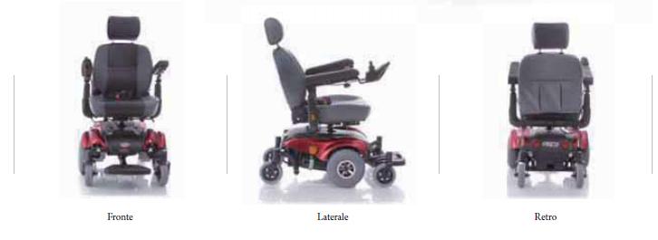 Dotata di 6 ruote montate su bracci oscillanti con sospensioni indipendenti per un adattamento perfetto in qualsiasi condizione di fondo stradale.