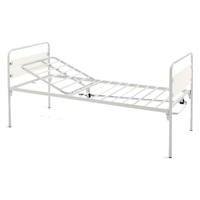 Struttura portante perimetrale in profili di acciaio a sezione rettangolare.