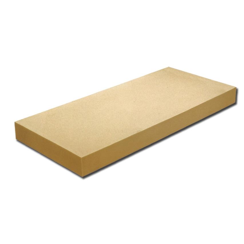 Materasso - densità schiuma 30 kg/mc - 195 x 85 x 14 cm - Gima
