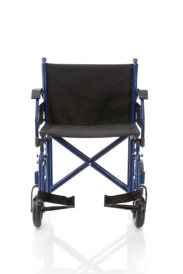 Telaio stabilizzante in acciaio verniciato, crociera singola, seduta e schienale in nylon nero imbottito e lavabile