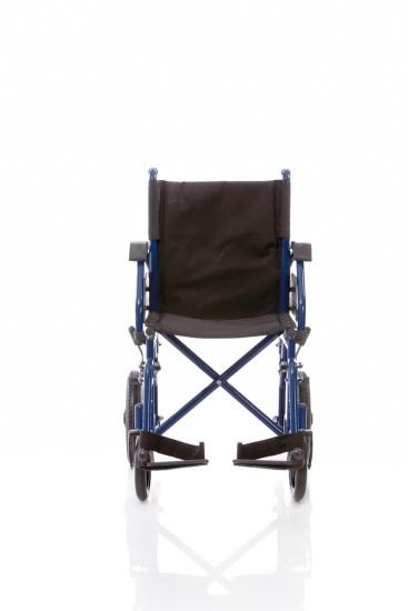 Telaio stabilizzante in acciaio verniciato crociera singola , seduta e schienale in nylon nero imbottito e lavabile