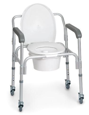 Rialzo sedia comoda assemblaggio senza viti 4 ruote piroettanti con freno