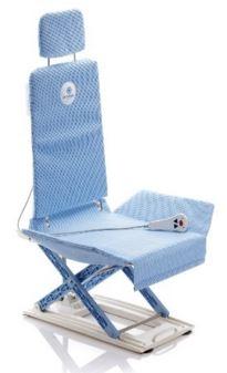 Sedie sollevapersone elettrico per vasca da bagno schienale reclinabile 40° altezza regolabile