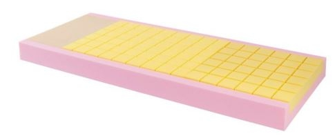 Materasso composito a scarichi differenziati sezione unica
