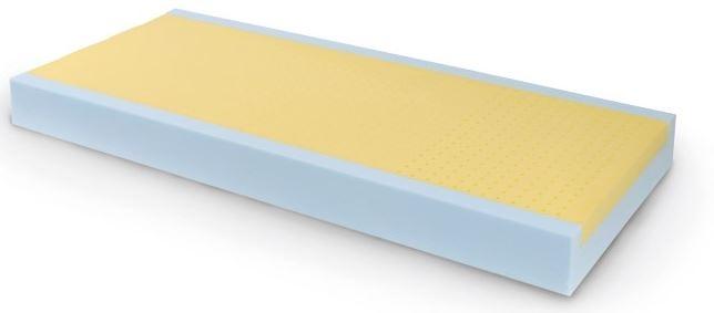 Materasso sezione unica con sistema canalizzazione d'aria