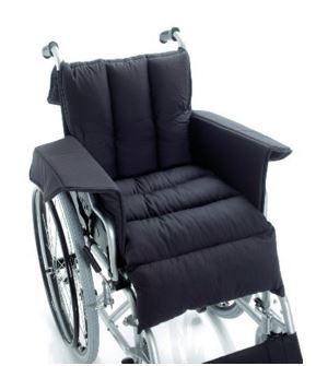 rivestimento completo di sedile, poggiagambe, schienale e braccioli