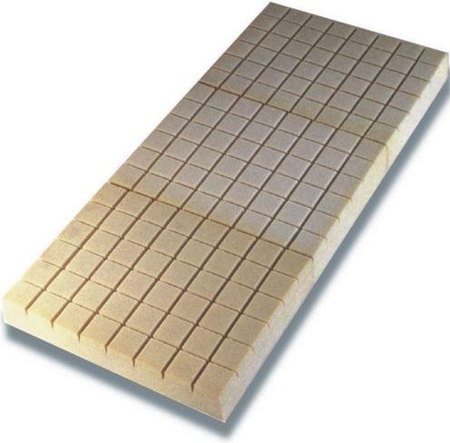 Materasso in espanso ventilato a tre (3) sezioni cm.195x85x14, portata Kpa 3,6 carico di rottura Kpa 120 Portata massima Kg.100