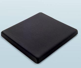 Cuscino In gel fluido di silicone, con fodera, base antiscivolo.