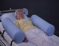 Protezioni per sponde letto a rullo con interno in fibra cava di silicone, è resistente e compatta e rappresenta una buona alternativa alle sponde.