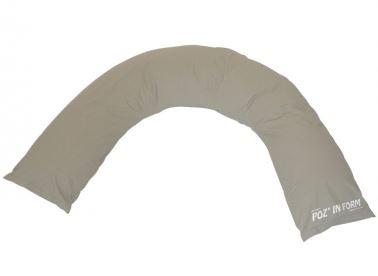 In posizione allettata o semi-fowler contiene e mantiene perfettamente il dorso del paziente. Utilizzato sulla poltrona permette al paziente una ripartizione ottimale nell'appoggio dorsale, ottimizzando il posizionamento degli arti superiori.