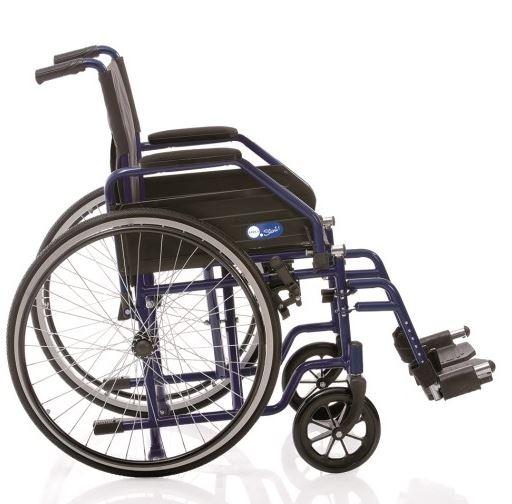Telaio stabilizzante in acciaio verniciato, crociera singola, seduta e schienale in nylon nero