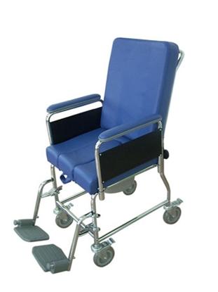 Immagine di RC120 Sedia comoda a 4 ruote - seduta 43 cm