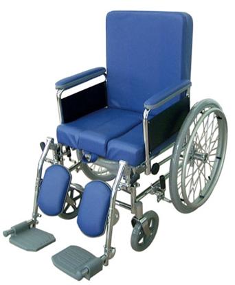 Immagine di Sedia comoda su ruote - ad autospinta seduta da 43 a 48 cm