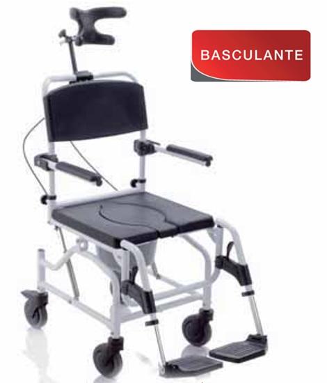 Picture of RS944 - Sedia comoda per doccia BASCULANTE