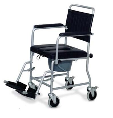Immagine di Noleggio sedia comoda con vaschetta WC -  seduta 43 cm