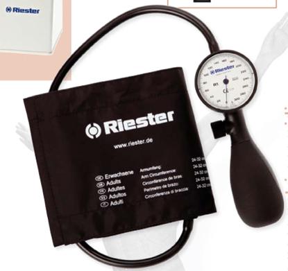 Immagine di Sfigmomanometro Shock-Proof® - Riester - Cod. 1250-107 Wimed