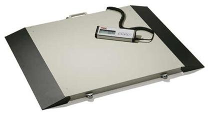 Immagine di Pesacarrozzine elettronica a piattaforma portata 300 kg. Classe III - Ade - Wimed cod. M500020