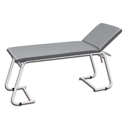 Immagine di Lettino Visita - acciaio verniciato - grigio - Gima - cod. 27402