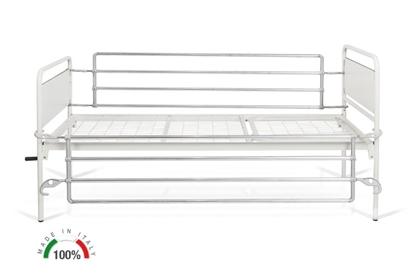 Immagine di Sponde Ribaltabili in alluminio - letti TULIPANO/LOTUS - Mopedia MI180