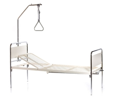 Nolortopedia noleggio e vendita ausili ortopedici letto degenza 1 manovella tulipano - Gambe letto universali ...