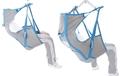 Picture of Imbracatura contenitiva con stecche per sollevamalati - Con poggiatesta - In tessuto di poliestere in tela - Mopedia