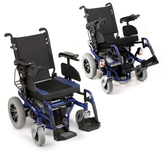 Picture of Carrozzina elettrica ARIES - Seduta e schienale Inclinabili manualmente - seduta 45 cm - ARDEA CS900BL