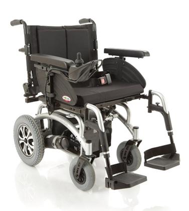 Immagine di Carrozzina elettrica TAURUS - seduta regolabile da 37 a 52 cm - ARDEA CS810