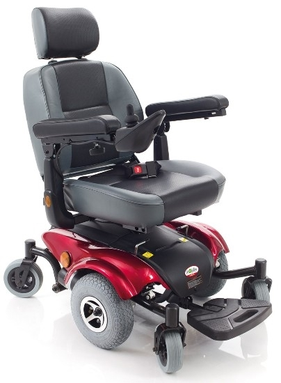 Picture of Carrozzina elettrica VIRGO A 6 ruote - seduta 50cm - ARDEA CS930