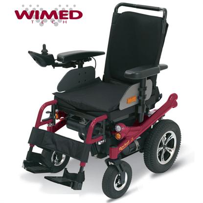 Immagine di Carrozzina elettrica ROCKET 3 - seduta da 40 a 50 cm - Wimed - cod. 17000010