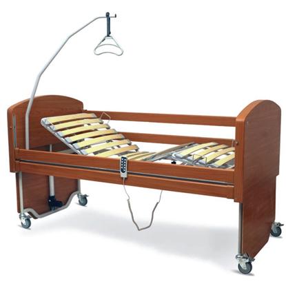 Immagine di Letto elettrico in legno REBECCA - smontabile - Wimed - Cod. 15000014