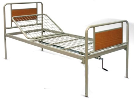 Picture of Letto articolato a 1 movimento CETRA - manuale - rete intera  - Wimed - Cod. 15000091