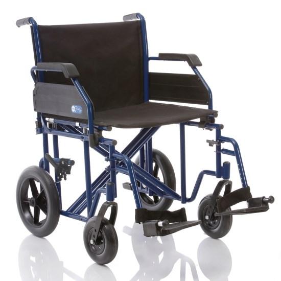 Carrozzina pieghevole di transito doppia crociera for Sedia a rotelle doppia crociera