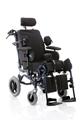 Picture of Poltrona polifunzionale assistita - da transito con ruote posteriori Ø 30 cm - seduta da 40cm a 45cm - RELIEF - ARDEA CP900-xx