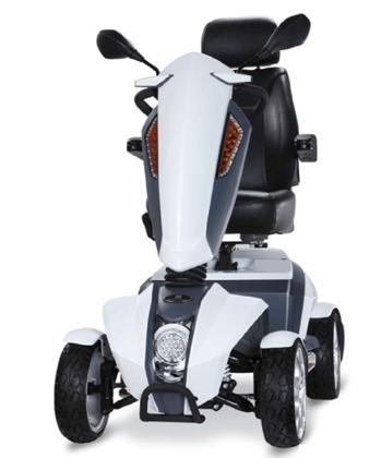 Immagine di Scooter CUTIE S17 bianco o titanio - Wimed