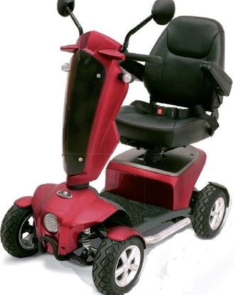 Immagine di Scooter CUTIE S16 L Bordeaux- Wimed cod 14276044