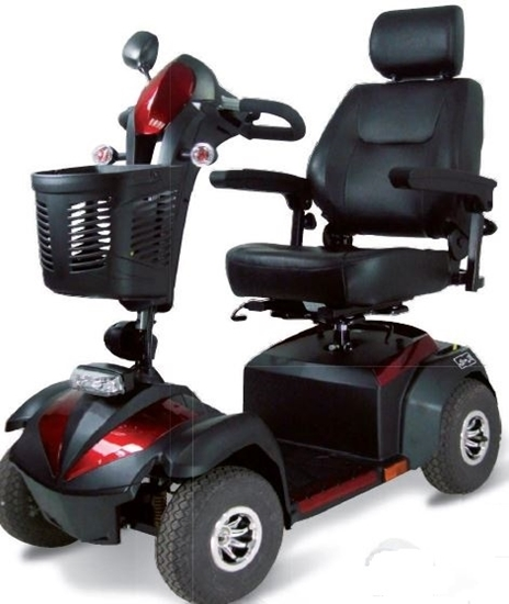 Picture of Scooter elettrico Martin 10km/h rosso/blu - WIMED