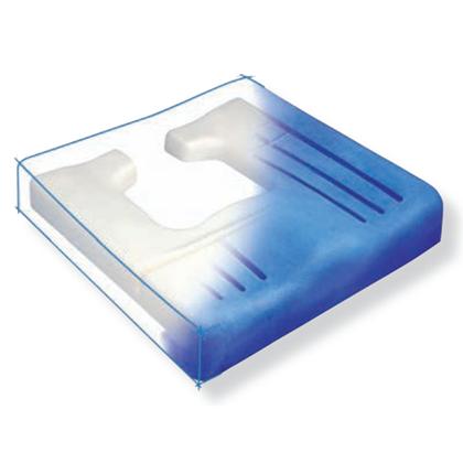 Immagine di Cuscino Antidecubito Viscoflex® Plus h 8 con fodera - Wimed
