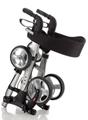 Picture of Deambulatori Rollators 4 ruote compatto totalmente pieghevole in acciaio verniciato - Mopedia Cod. RP530
