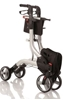 Picture of Deambulatori Rollators 4 ruote pieghevole facilmente smontabile in acciaio verniciato - Mopedia Cod. RP535