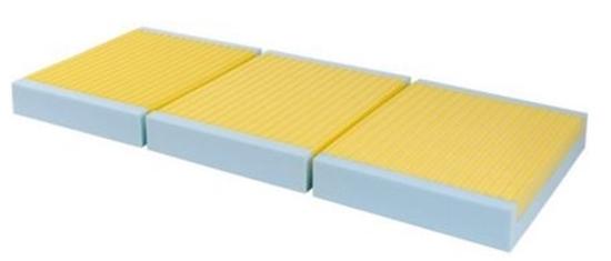 Materassi Antidecubito Levitas.Materasso In Viscoelastico Espansivo A 3 Sezioni E 2 Strati Levitas Cod St730