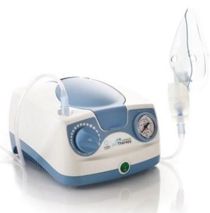 Immagine di Aerosol terapia portatile a pistone AirTherapy professionale - Kyara Cod LT130