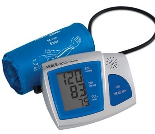 Picture of Sfigmomanometro digitale a bracciale parlante RC12V - Mediland Cod 860604