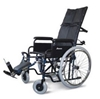 Picture of Carrozzina pieghevole ad auto spinta con schienale reclinabile 41-43-46cm K125 K15 K21 - Mediland
