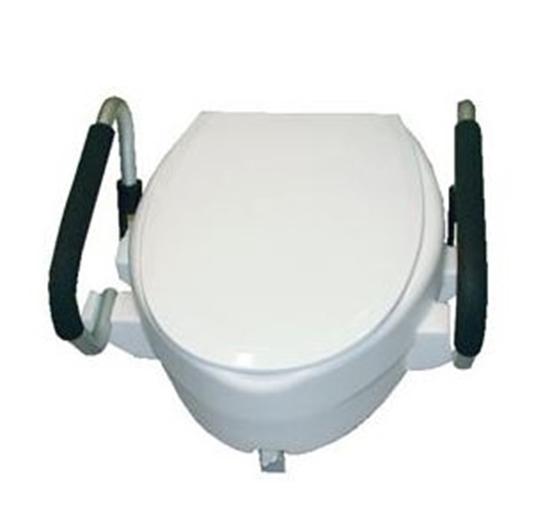Nolortopedia noleggio e vendita ausili ortopedici ausili wc rialzi con braccioli amovibili - Rialzo per bagno ...