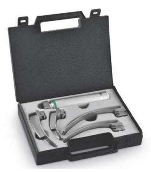 Picture of Set per laringoscopio a fibre ottiche Macintosh - Mediland - cod. 500040