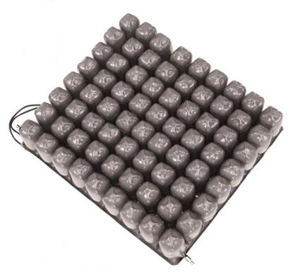 Immagine di Cuscino a bolle d'aria in gomma e PVC a 2 valvole - Intermed