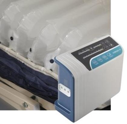 Immagine di Kit anti decubito a 3 vie VIRGO II compressore con regolatore e materasso a elementi intercambiabili - Intermed cod. AK-506