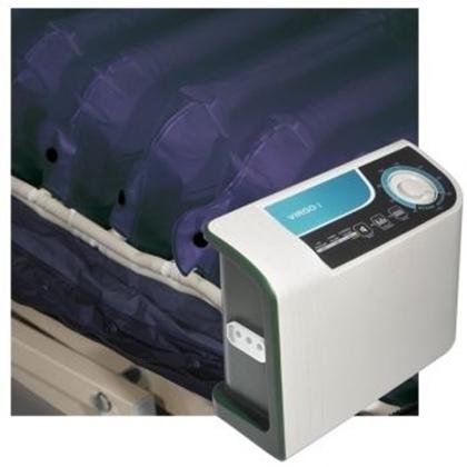 Immagine di Kit anti decubito a 3 vie VIRGO I  compressore con regolatore e materasso a elementi intercambiabili - Intermed cod. AK-606